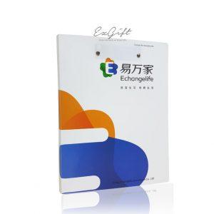 Metal-clip-folder
