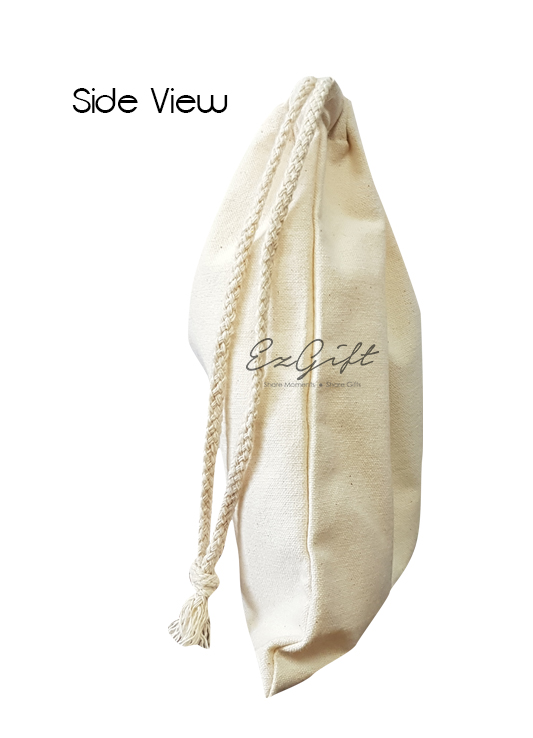 Canvas Drawstring Pouch 3